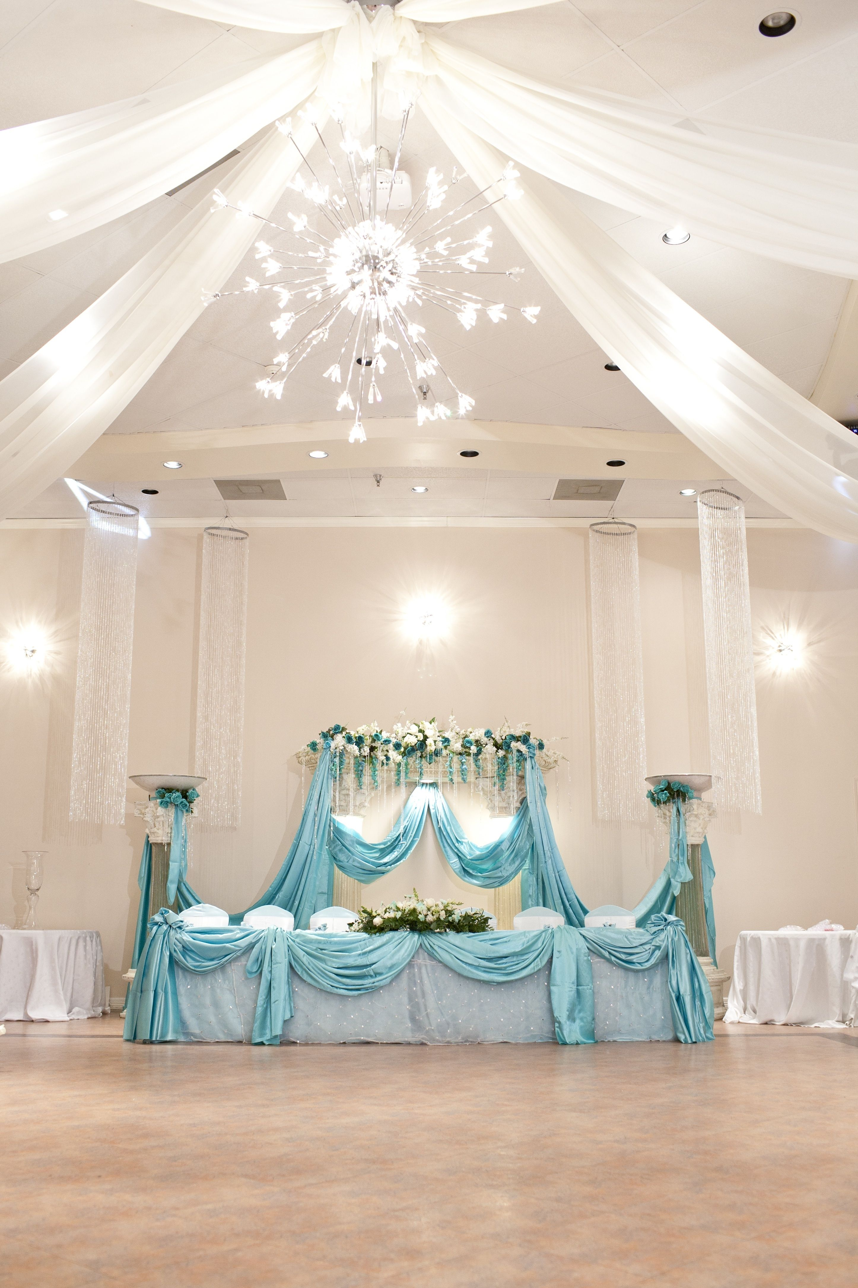 Tiffany Blue Quincenera Reception @ Demers Banquet Hall ...
