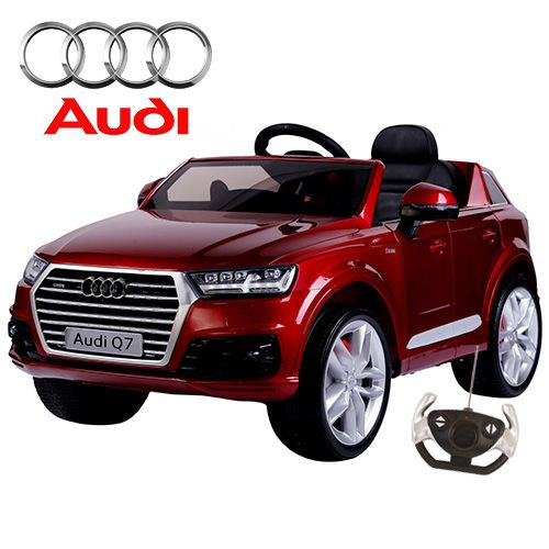 2016 new official audi q7 kids 12v ride on jeep with remote