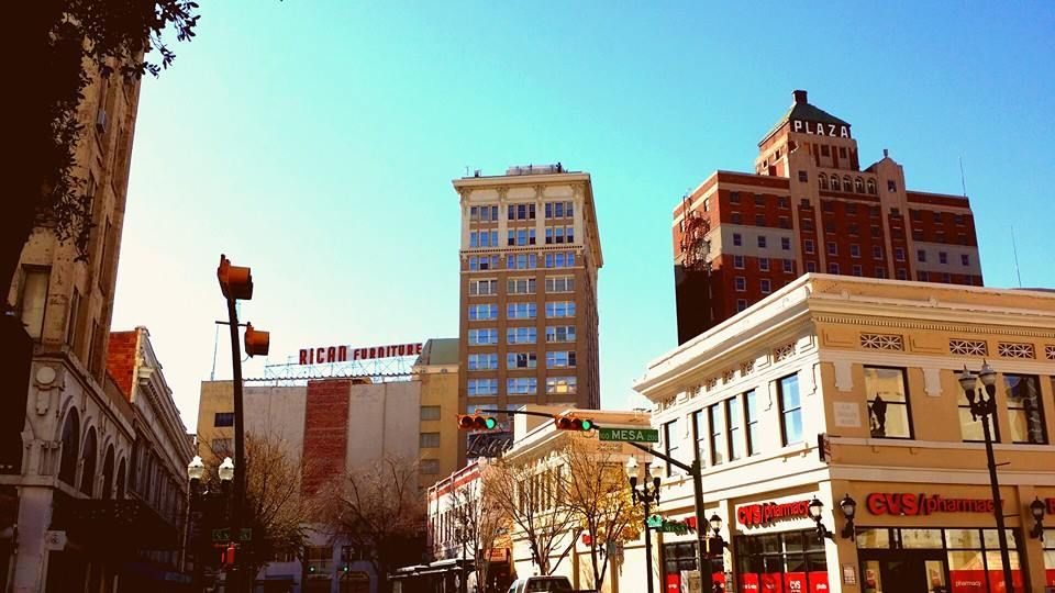 beautiful winter day downtown el paso texas dtep downtown el rh pinterest com