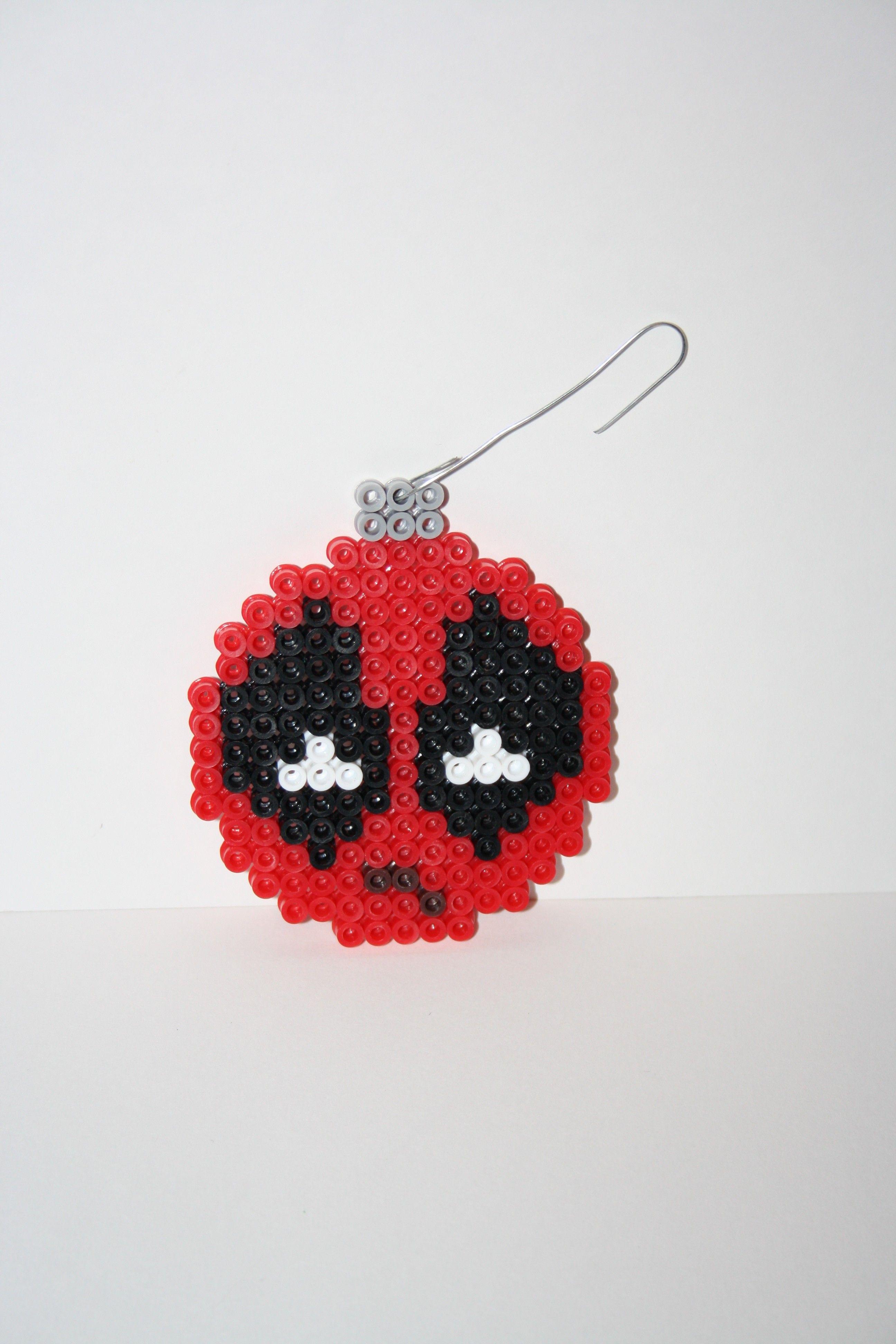 Deadpool christmas perler ornament crochet pinterest deadpool