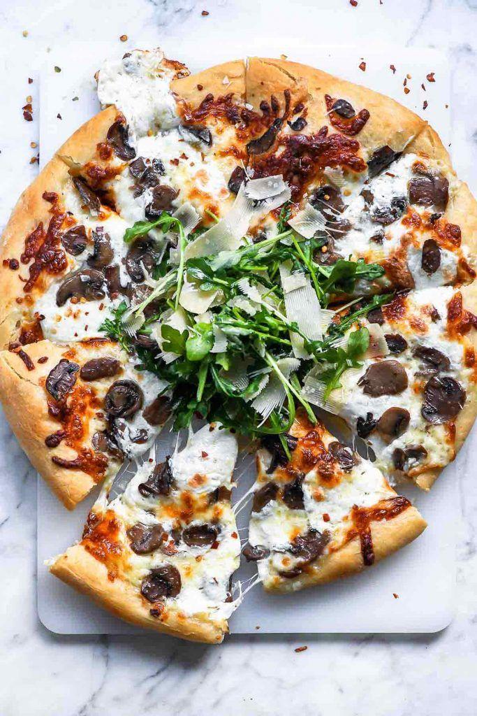 Truffled Mushroom Pizza pizza truffles