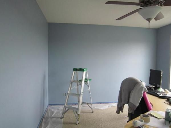 Another Painted Room Andihays Russian Blue Behr