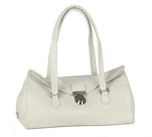 Prada BR2375 Handbag White Calfskin Leather « Clothing Impulse