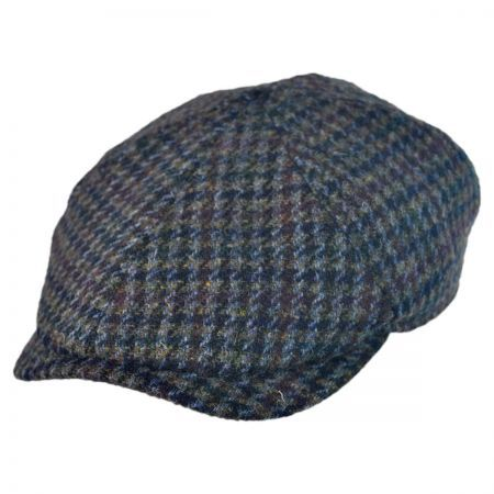 Harris Tweed Newsboy Cap w  Earflaps Hat available at  VillageHatShop ff614192b93