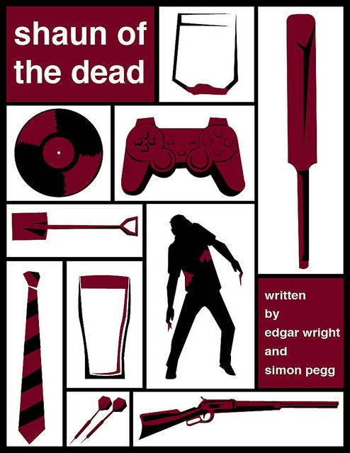 Shaun of The Dead - alternative posters