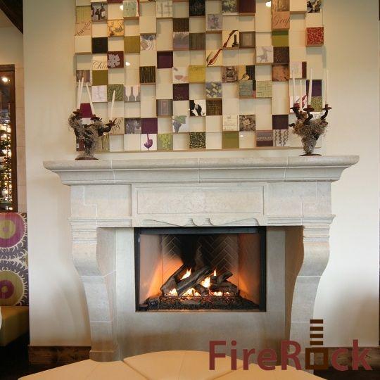 Nice looking masonry fireplace | A. Duchini Homes ...