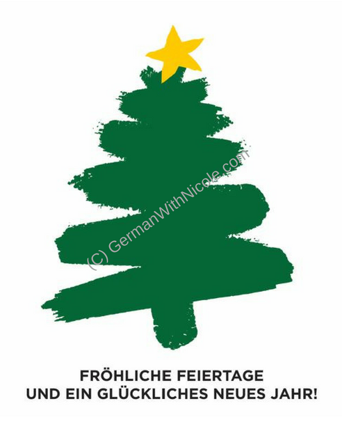 Weihnachtskarten now available at GermanWithNicole.com! | Learn ...