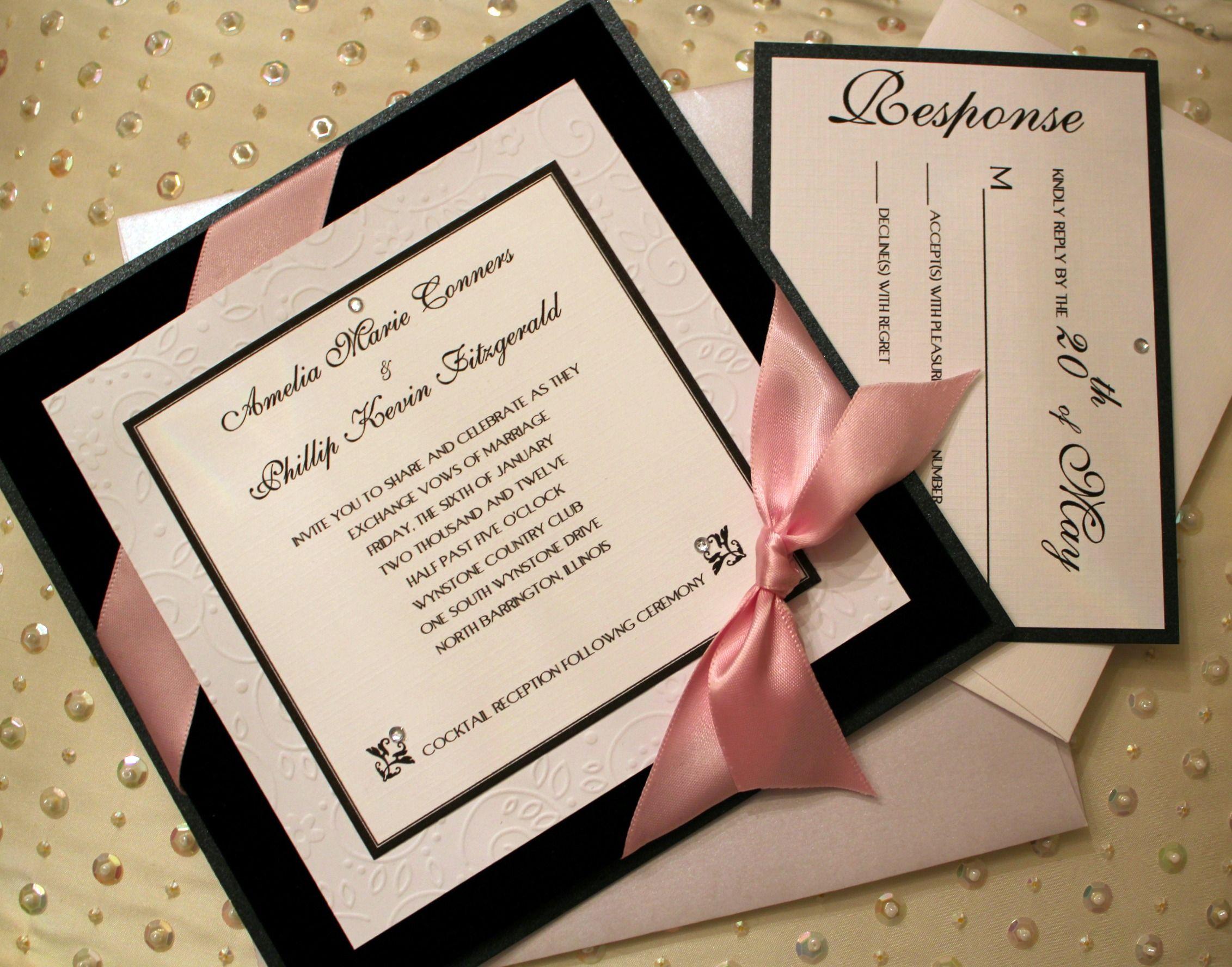 invitations to wedding%0A Wedding invitation from Charmant Invitations