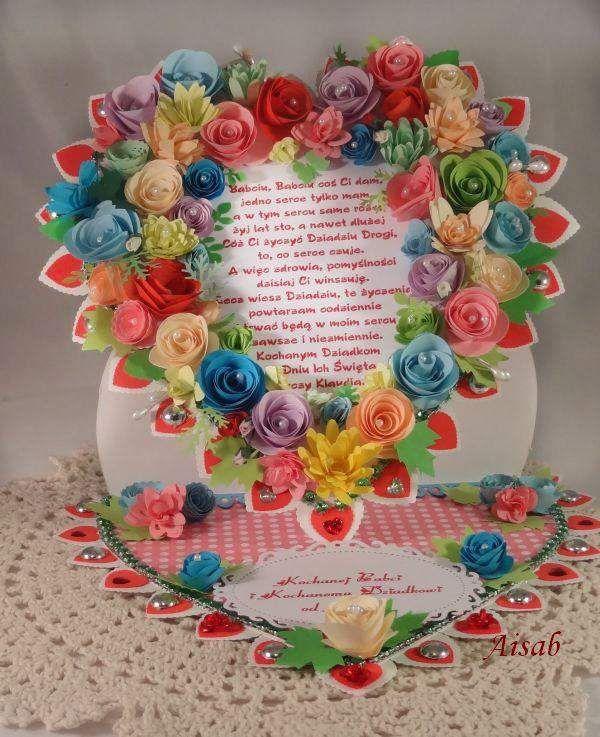Kartki Walentynkowe Recznie Robione Wzory Szukaj W Google Birthday Scrapbook Birthday Cake