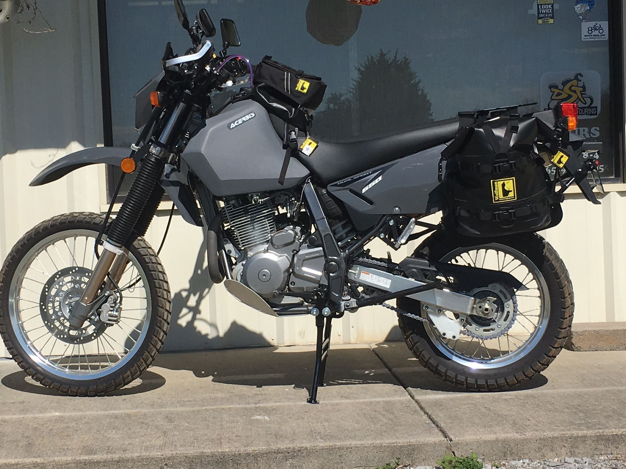 Now that's a great looking DR650!!! (With images) Dual