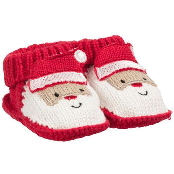 628b9bb82 Crocheted Santa Booties - Carters.com (ships to canada) | Crochet ...