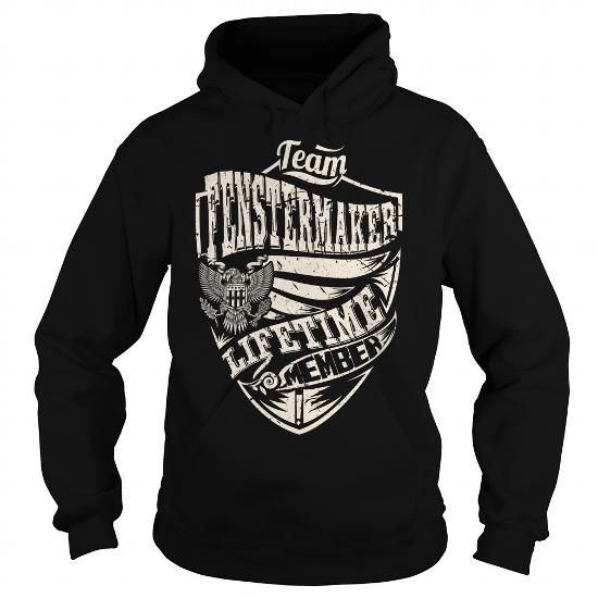 Cool Last Name, Surname Tshirts - Team FENSTERMAKER Lifetime Member Eagle Shirts & Tees