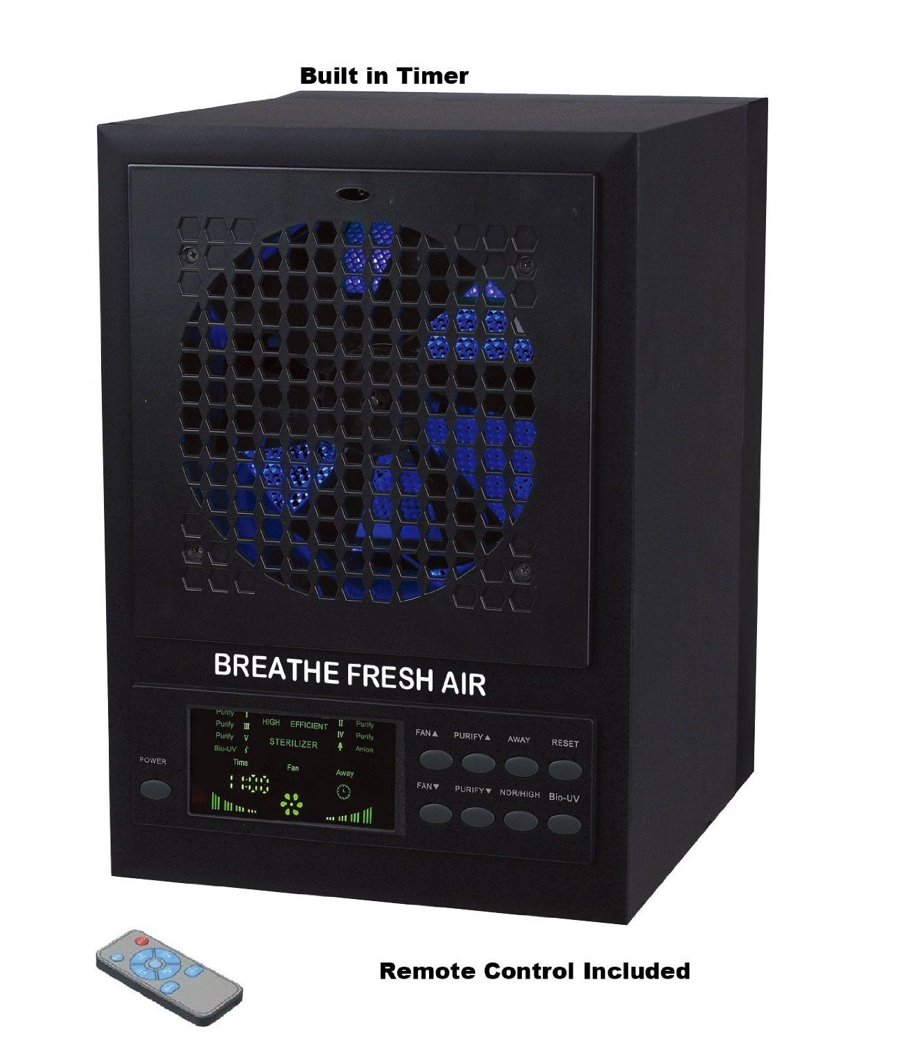 Breathe Fresh 5in1 Air Purifier w/ UV, Ozone