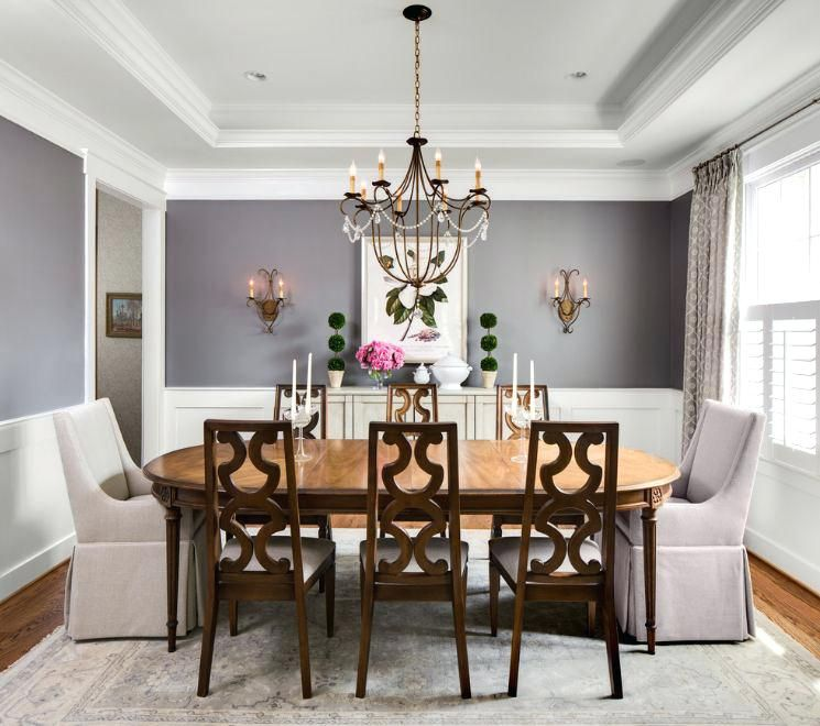 dining room wainscoting. home decor and interior ...