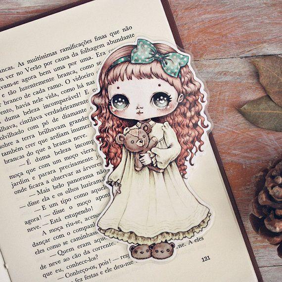 Little Hugs Bookmark Made To Order Dibujos Kawaii Dibujos Cosas Lindas Para Dibujar