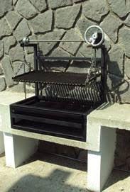 Resultado de imagen para jardin con asador de carne for Asadores para carne jardin