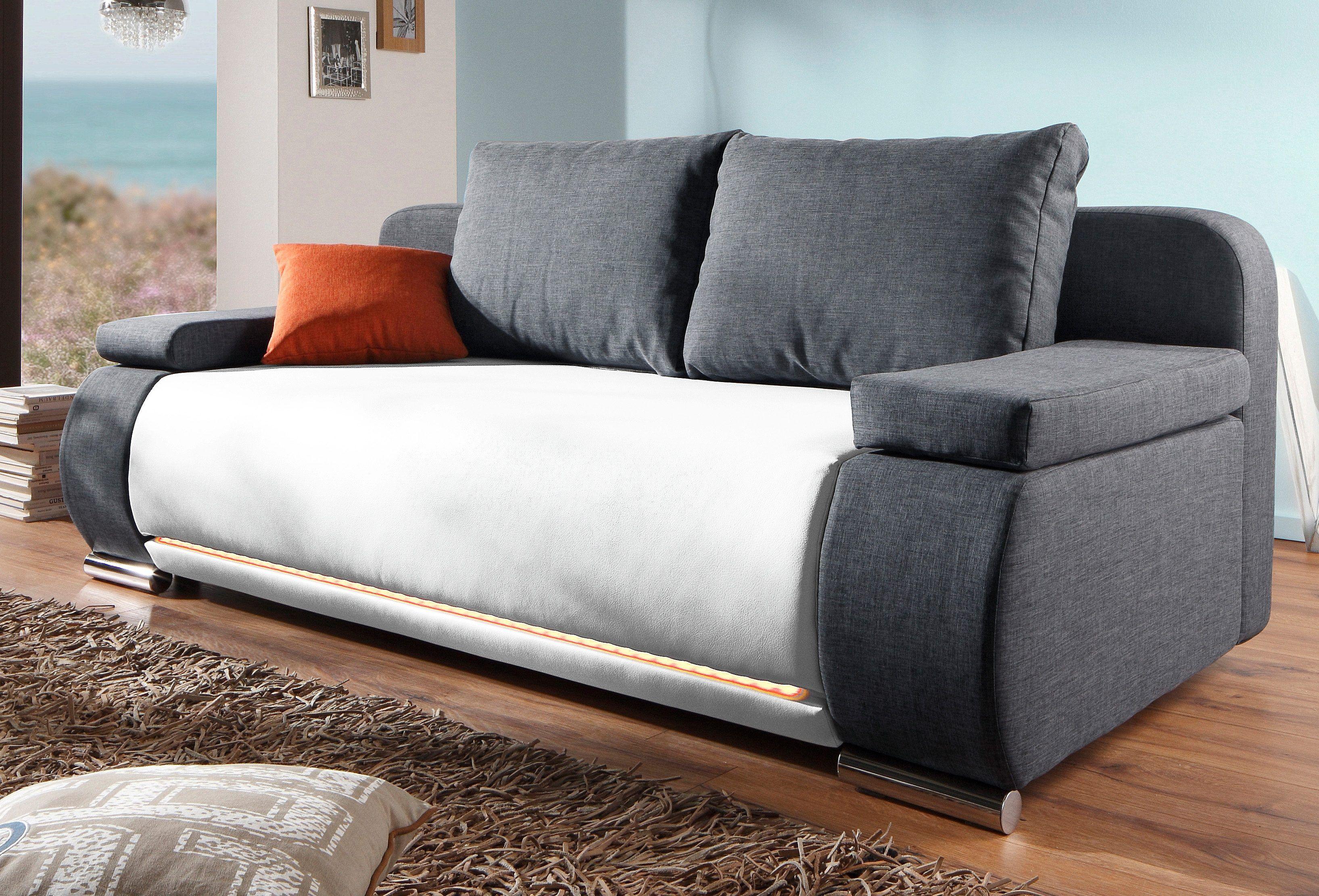 Best Polsterecke wahlweise mit RGB LED Beleuchtung Energieeffizienz A Jetzt bestellen unter https moebel ladendirekt de wohnzimmer sofas ecksofas u