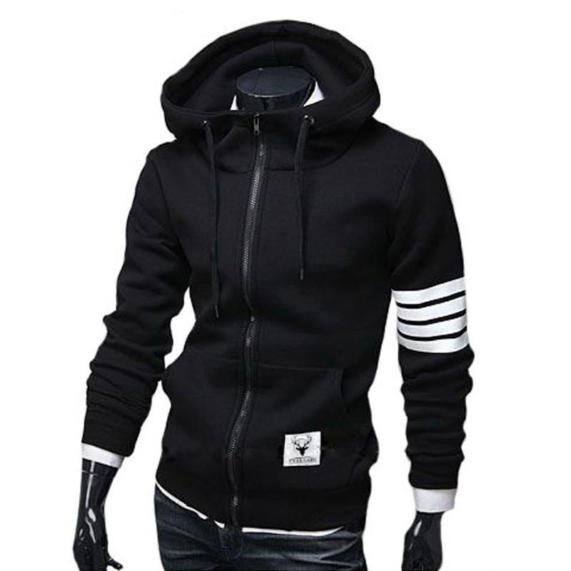 49f89d9c6 NEW Fashion Men Hoodies Brand Leisure Suit High Quality Men Sweatshirt  Hoodie Casual Zipper Hooded Jackets Male M-3XL