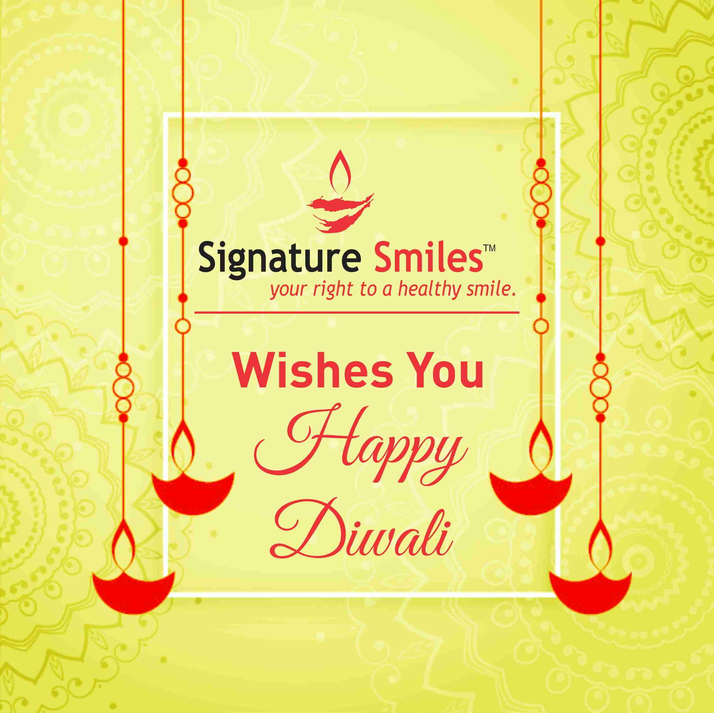 Your smile is as unique as you. Celebrate this Diwali with