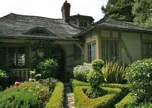 carmel front yard fairytale strawbale house cottage house rh pinterest com