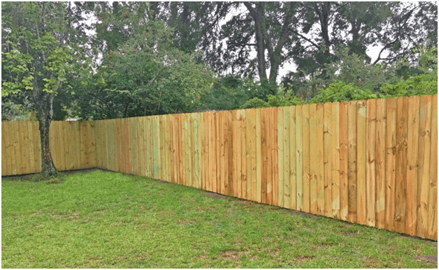 Cheapest Way To Build A Wood Privacy Fence With Images Wood