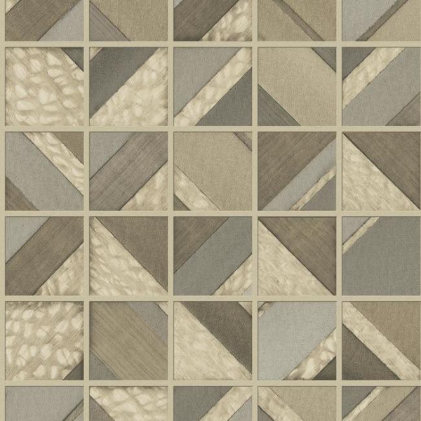 Mm1748 Patchwork Tile Patchwork Tiles Wall Coverings Embossed Wallpaper