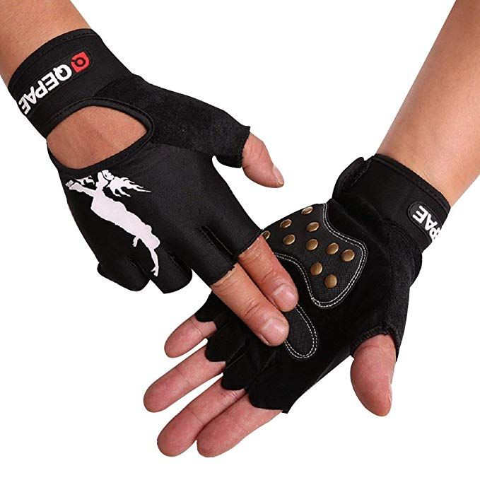 Tofern Cycling Gloves Bicycle Gloves Half Finger Gloves Unisex Professional Luminous Fingerless Gloves For Skateboard Skating Review With Images Cycling Outfit Fashion Fingerless