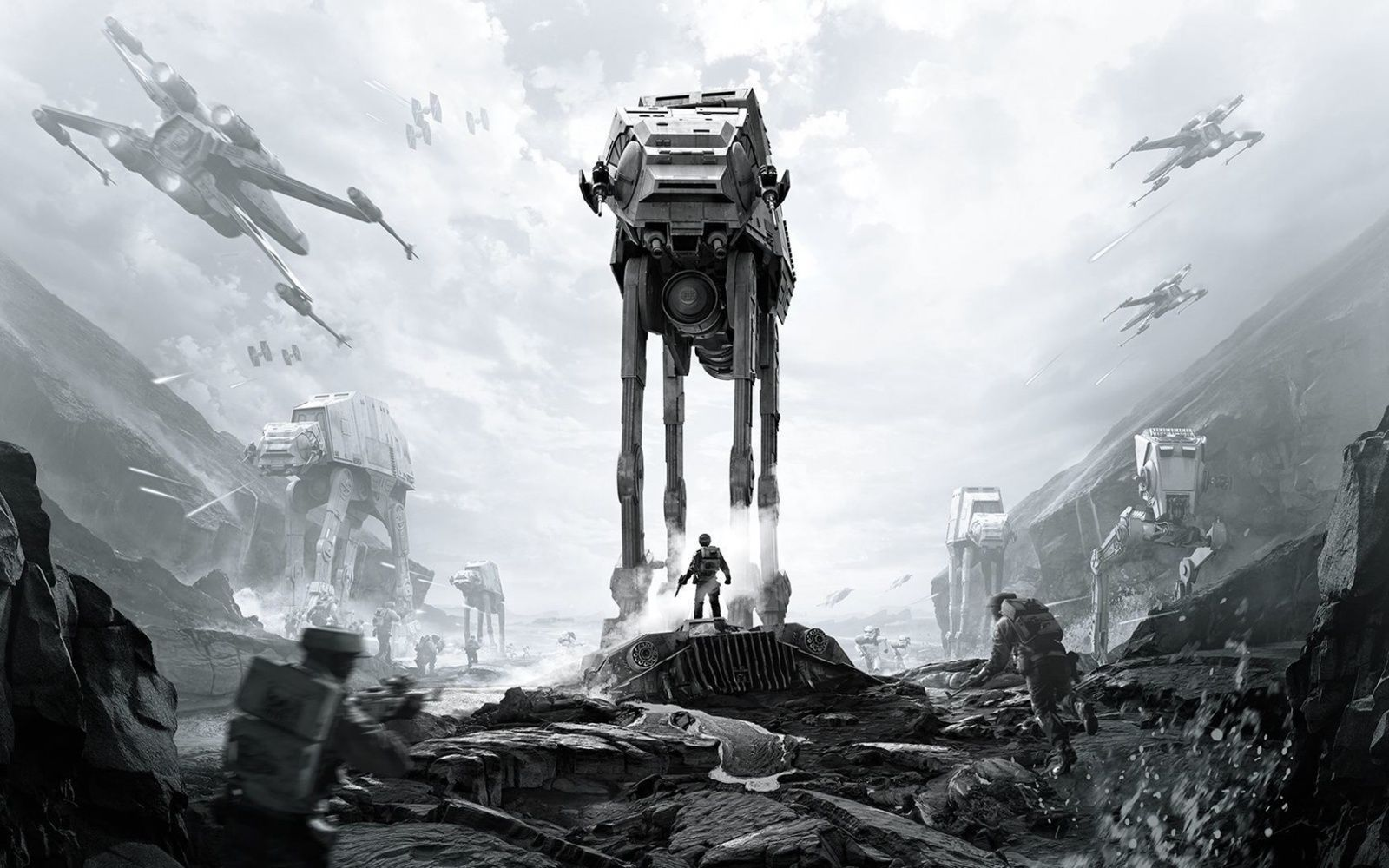Bring The Art Of Home With Star Wars Canvas Painting 2018 Star Wars Wallpaper Star Wars Canvas Painting Star Wars Battlefront