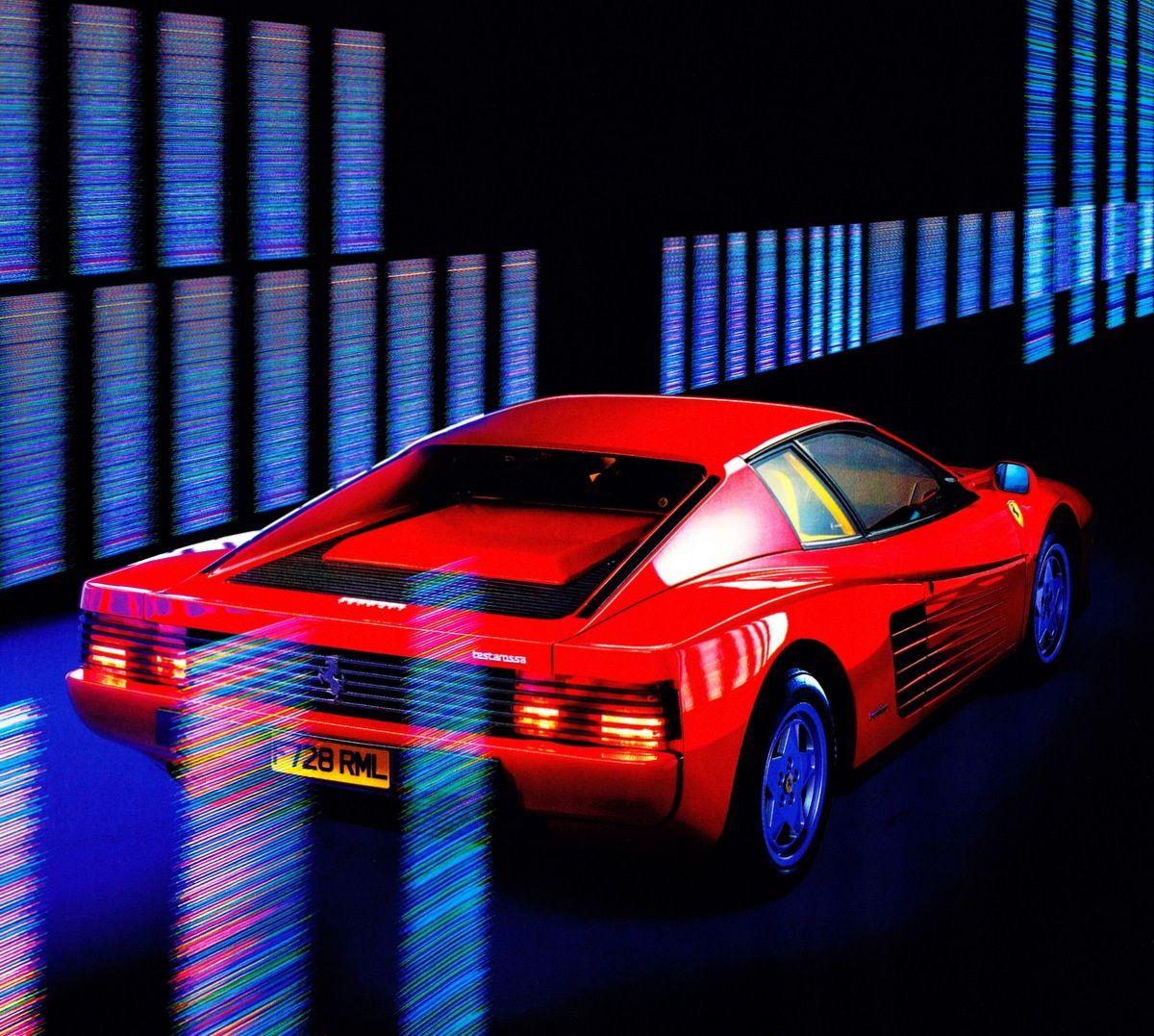Cool Sports Cars, Ferrari Testarossa