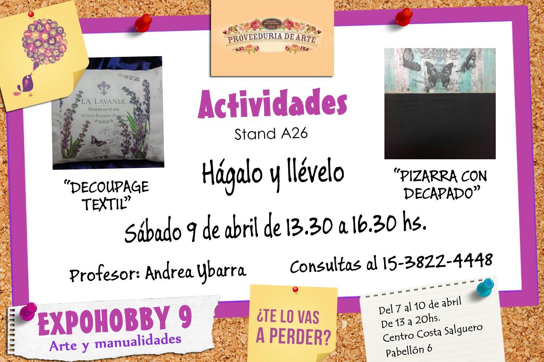 Expohobby 9 Arte Y Manualidades Conoce Los Hagalo Y Llevalo Que
