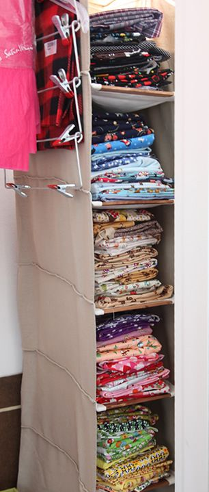 sweater shelves for fabric storage this could work storage rh pinterest com
