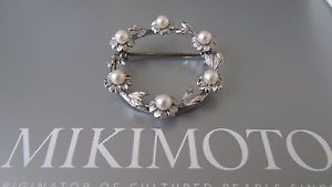 Mikimoto Pearls Value | Details about Mikimoto Akoya Pearl Brooch with Silver. Japan