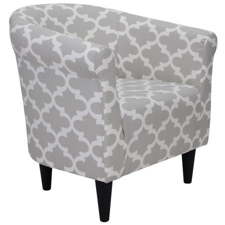 Mainstays Microfiber Bucket Accent Chair Gray Walmart Com In 2020 Accent Chairs Chairs Loft Comfy Chairs