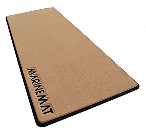 AntiFatigue Boat Mat By Marine MatNew ToffeeBlack No