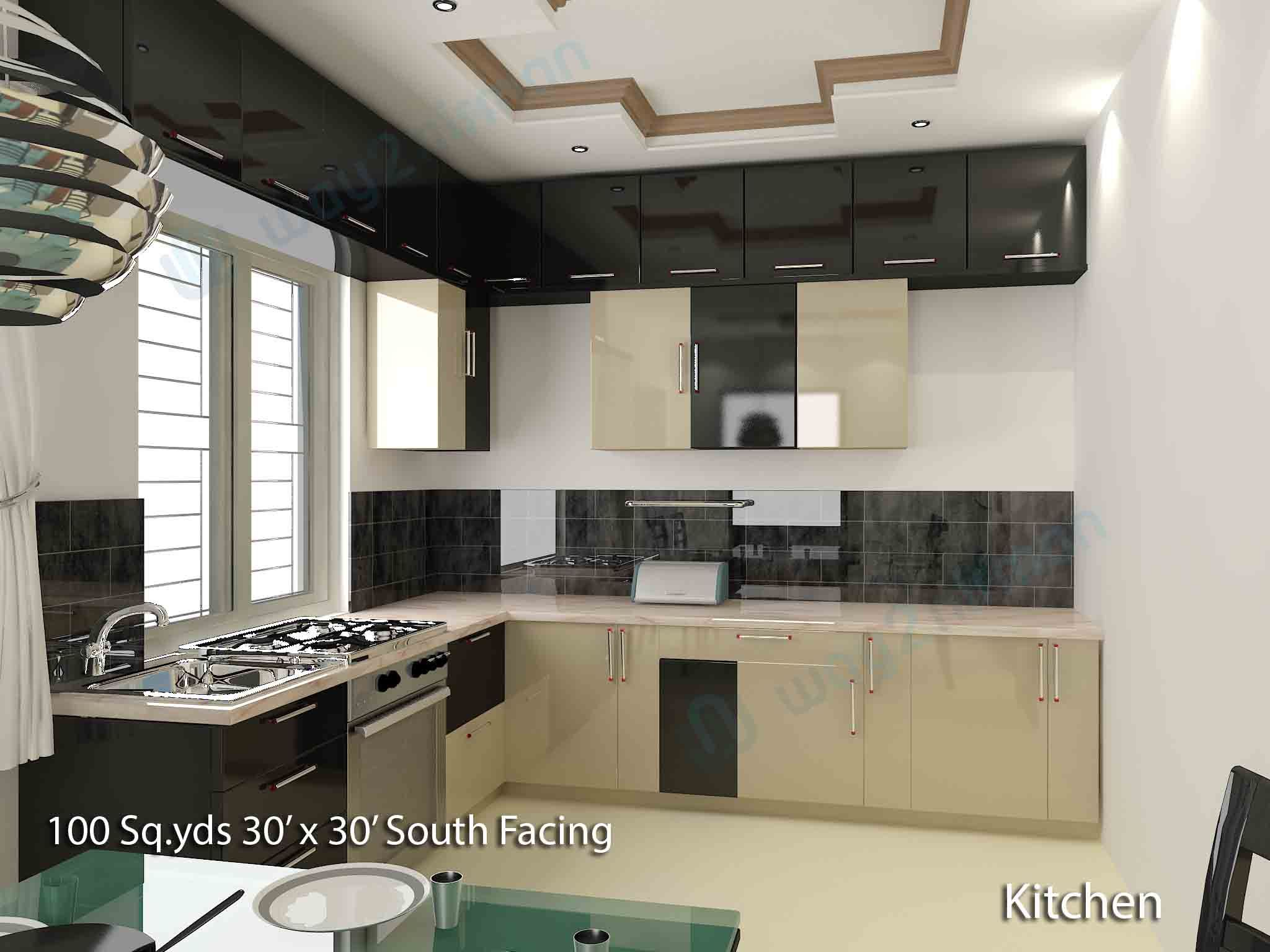 . Download Free Beautiful kitchen interior designs   100 sq yds 30x30