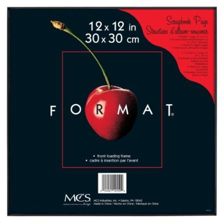 Amazon Com Mcs 12550 Format Frame 12 By 12 Inch Black Home Kitchen Affordable Frames Photo Studio Equipment Album Frames