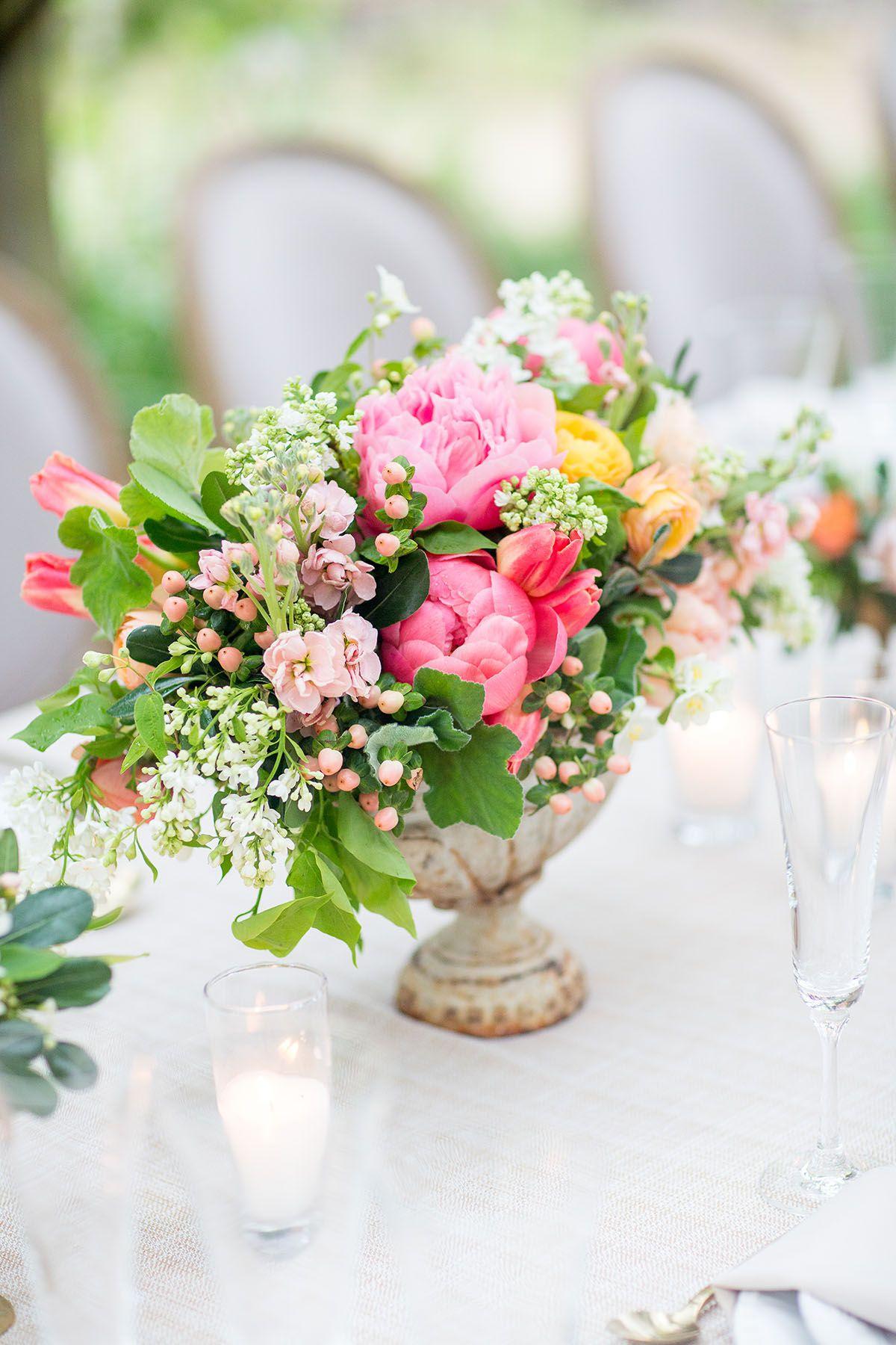 Intimate Italian Style Garden Wedding Ideas Wedding