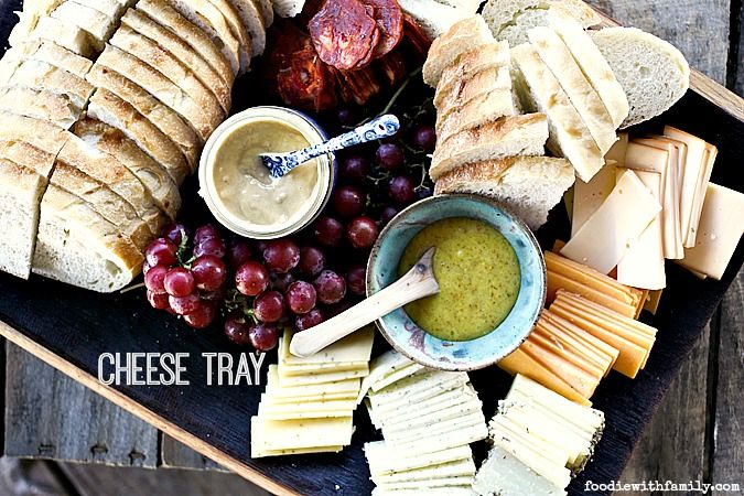 How to put together a Cheese Tray for appetizers or a light summer meal. & How to put together a Cheese Tray for appetizers or a light summer ...