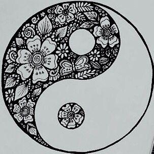 Ying Yang Mandala Yin Yang Art Yin Yang Tattoos Yin Yang