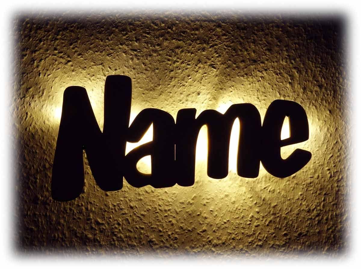 Name Personalisiertes Nachtlicht Aus Holz Nachtlicht Geschenke Mit Namen Lampen Aus Holz