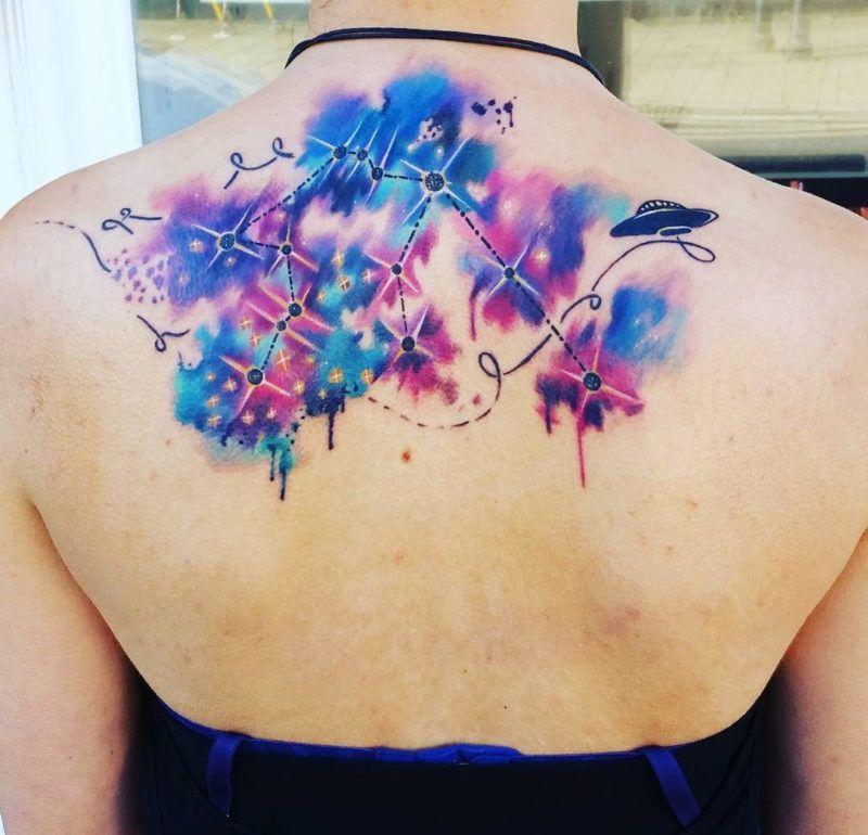 awesome wassermann konstellation zur ck tattoo tattoo pinterest wassermann. Black Bedroom Furniture Sets. Home Design Ideas