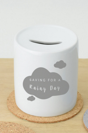 Gift For 20 Something Guy Who Has Trouble Ing Man Gifts Him Saving A Rainy Day Money Bank Box By Ellie Ltd At