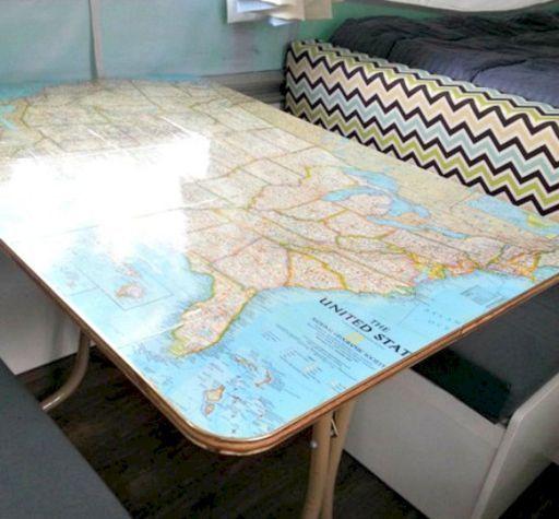 the best rv camper hacks makeover remodel interior 26 ideas rh pinterest at