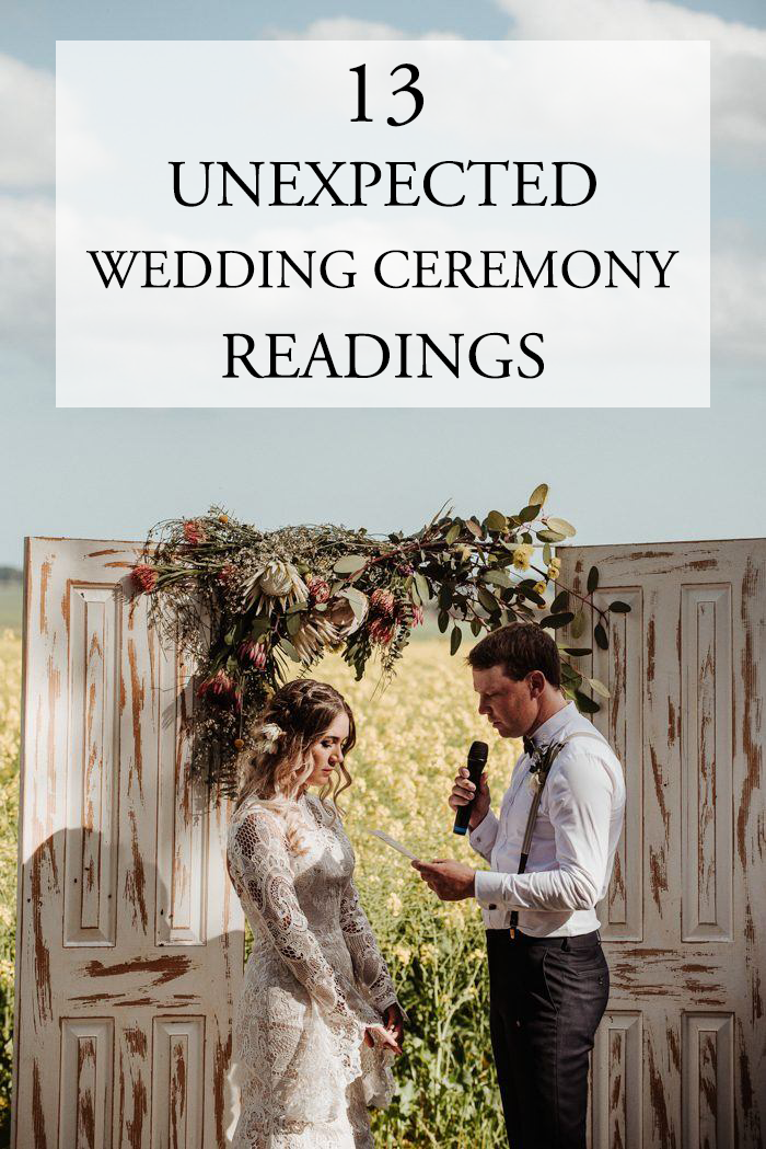 how to address couples on wedding invitations%0A    Unexpected Wedding Ceremony Readings