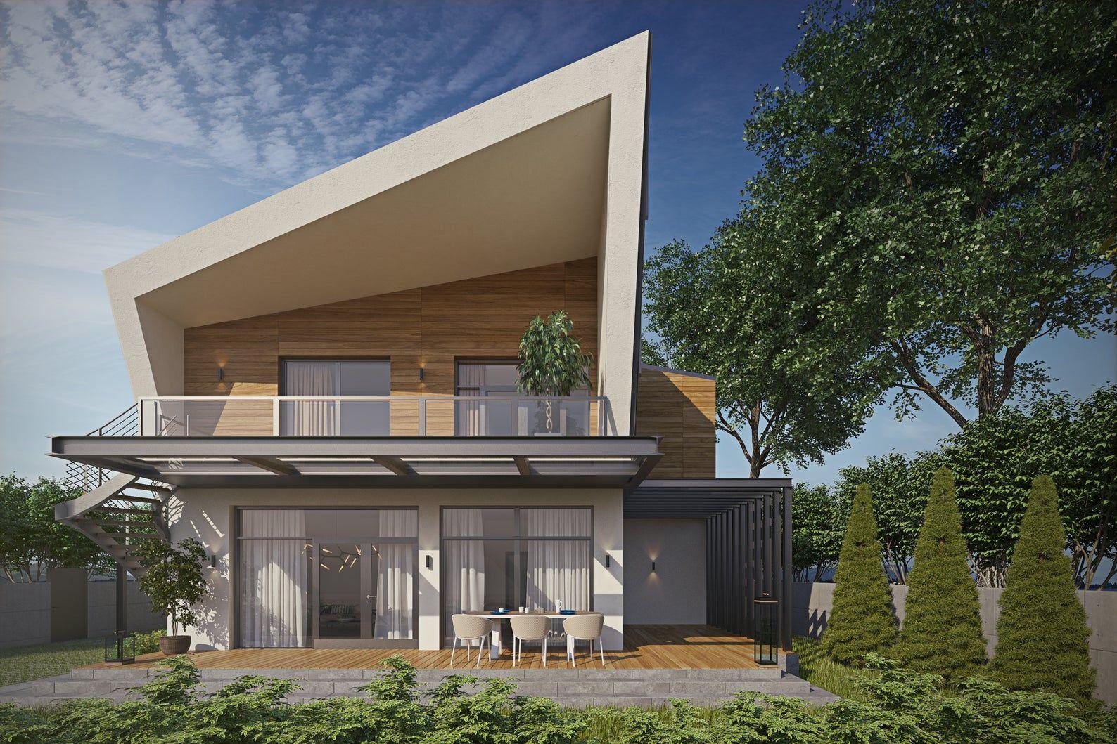 Modern House Plan Building Plans Blueprints & Material List 2018 193m 3