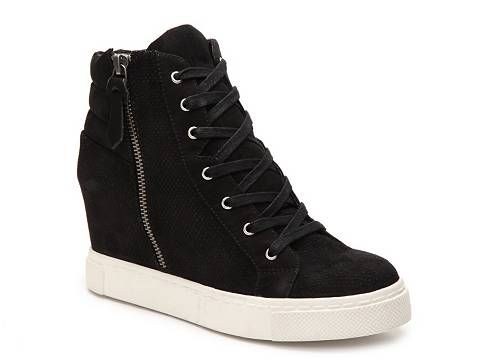 8ab6390c5fe Steve Madden Lynn High Top Wedge Sneaker | Shoes I want! | High top ...