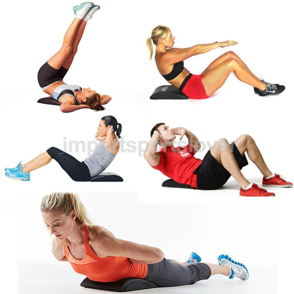 Ab Pad Sit Up Core Mat Support Abdominal Cushion Trainer