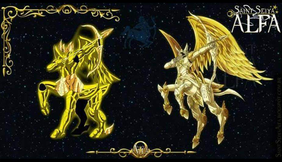 Armadura de Sagitario (Foto: Saint Seiya Alfa) Knights