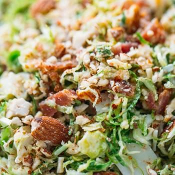 Bacon and Brussels Sprout Salad Recipe - ZipList