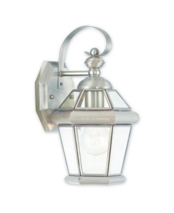 Livex Georgetown 1 Light Outdoor Wall Lantern | Outdoor wall